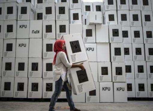 インドネシア:ハラルインク塗料、選挙向けに