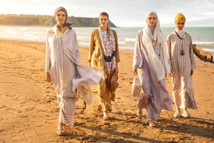 ムスリム最先端ファッション:Modania.comの春夏ラインナップ