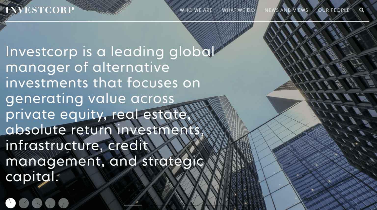 Bahrain's Investcorp