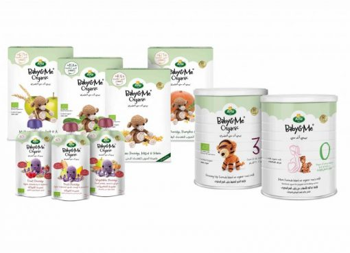 UAE: Arla Foods、Baby&Me Organicシリーズ発売